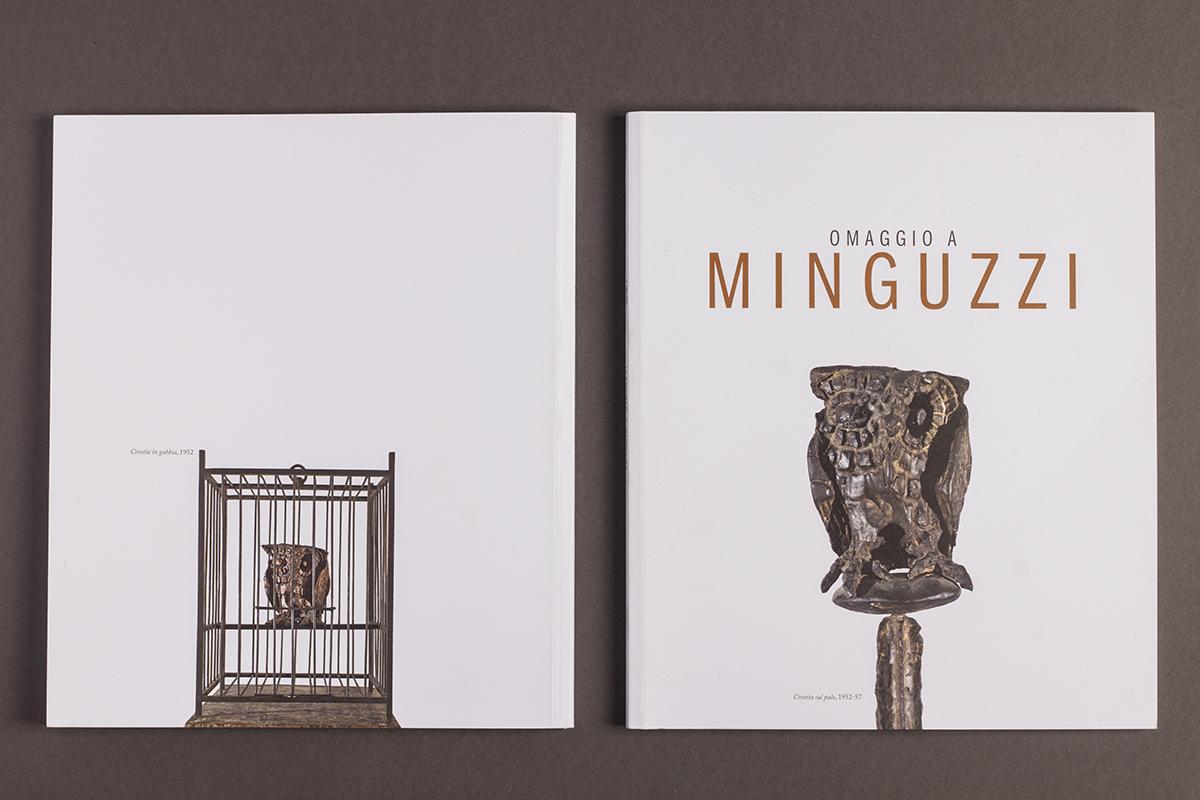 Omaggio a Minguzzi, catalogo mostra, copertina
