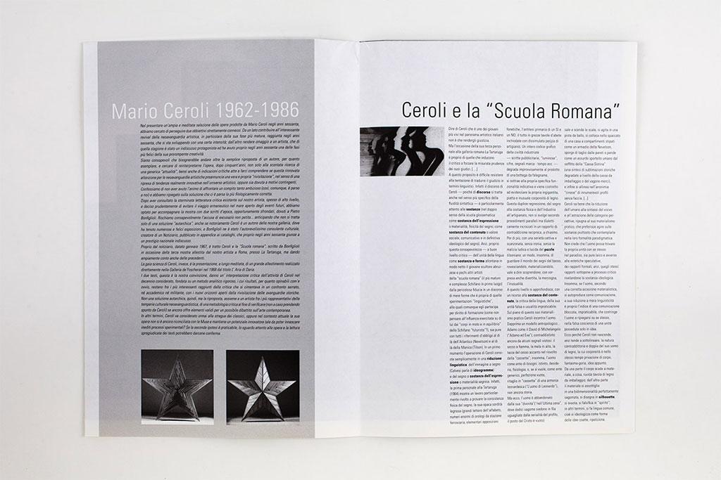 Mario Ceroli / prima apertura