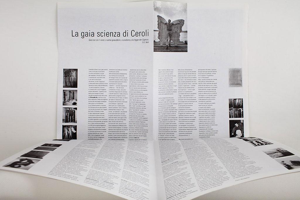 Mario Ceroli / interno