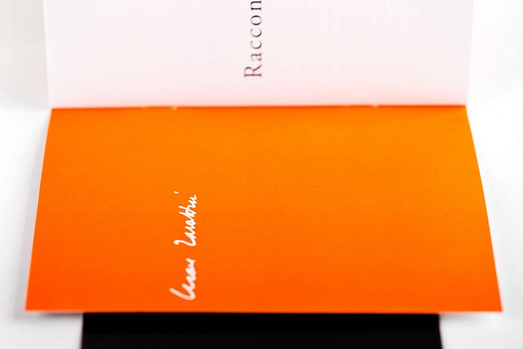 Zavattini / dettaglio libretto