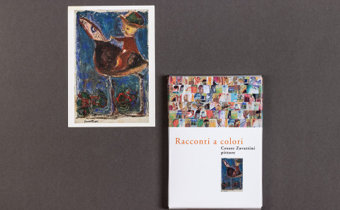 Zavattini, catalogo mostra, pack