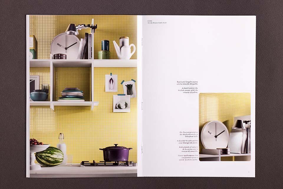 Ragno, cataloghi, pagine interne