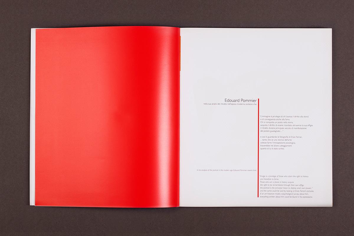 Enzo Ferrari - pagine introduttive del catalogo