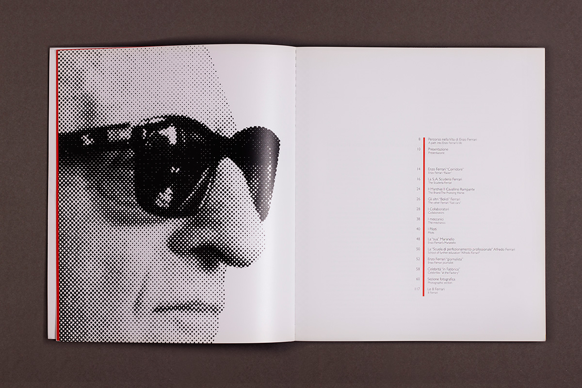 Enzo Ferrari - catalogo mostra