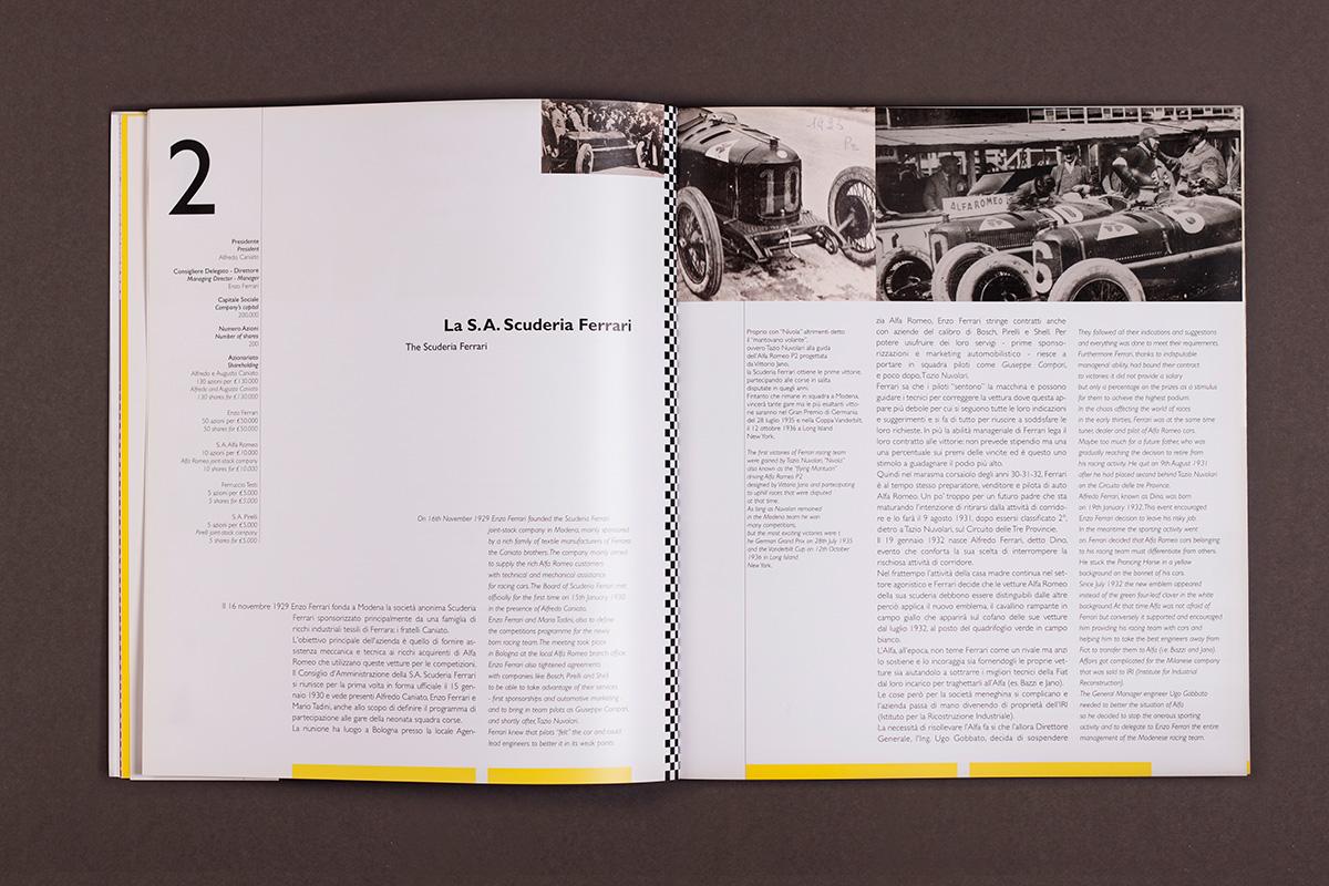 Enzo Ferrari - pagine interne del catalogo