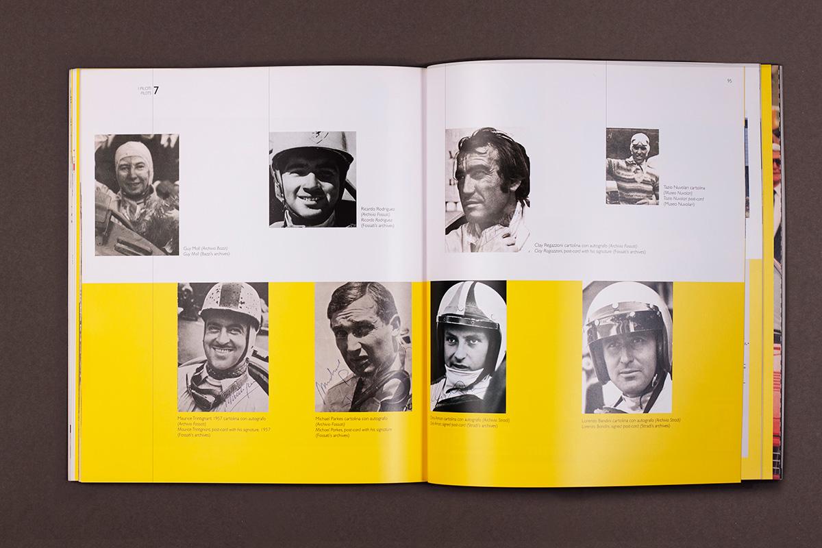Enzo Ferrari - sezione fotografica del catalogo