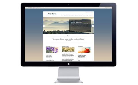 A.Parri, sito web, home page