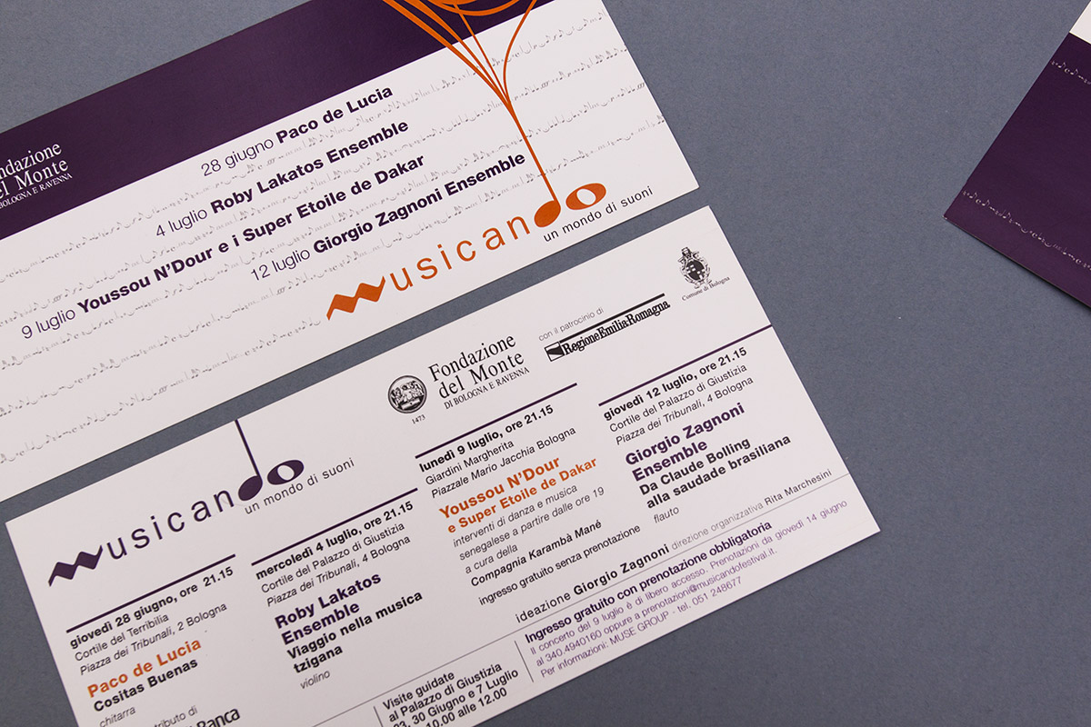 cartoline invito con funzione di programma