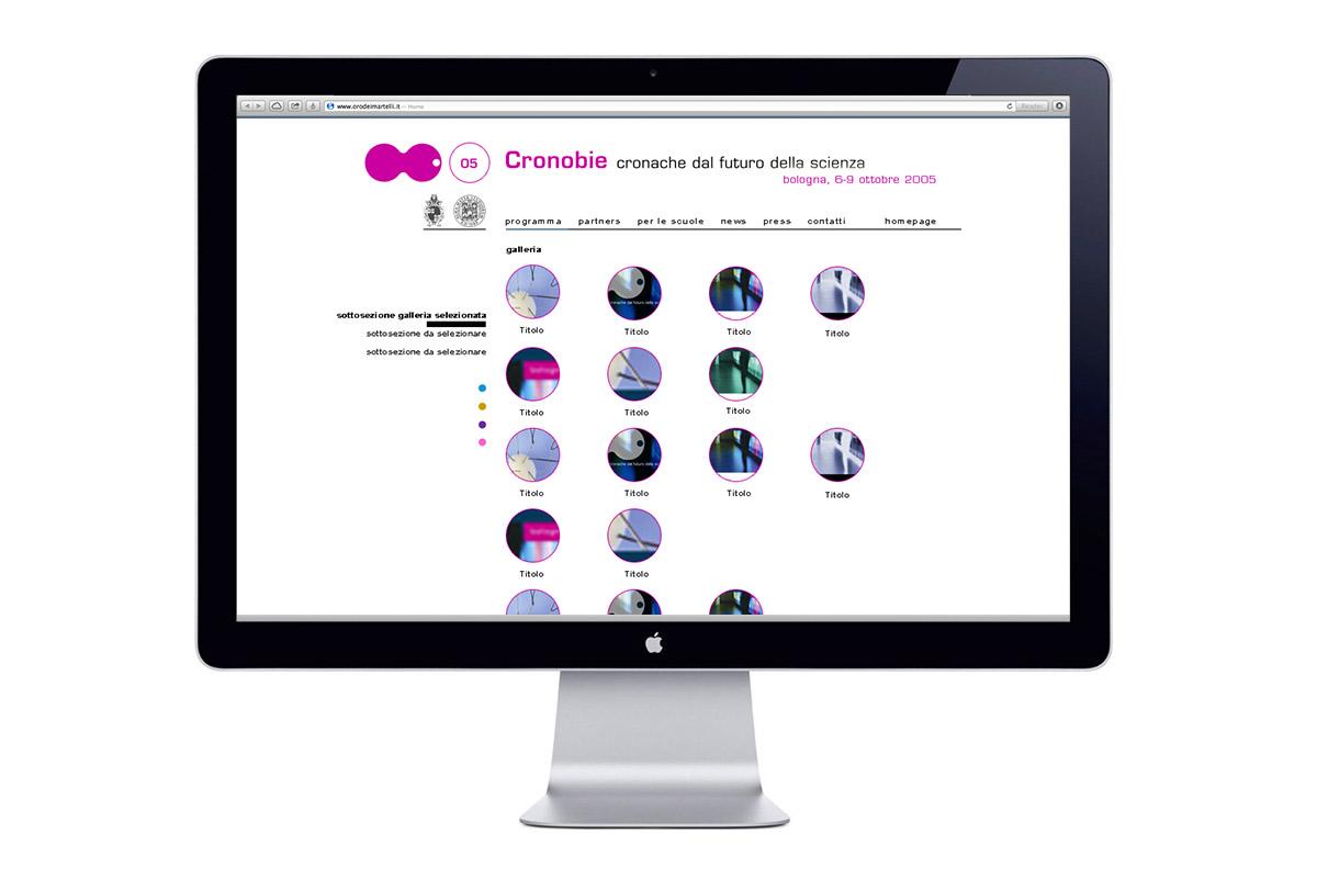 Cronobie, Sito web, Gallery